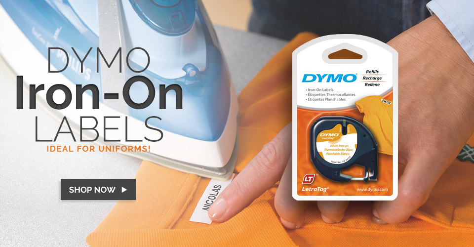 Dymo LetraTag Iron On Tape (SD18771)Dymo LM160P
