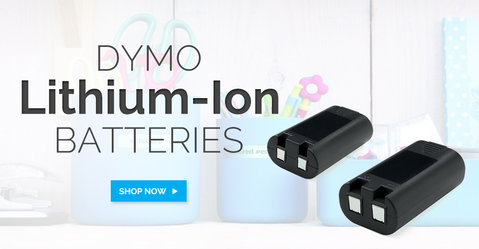 Dymo Rechargeable Batteries