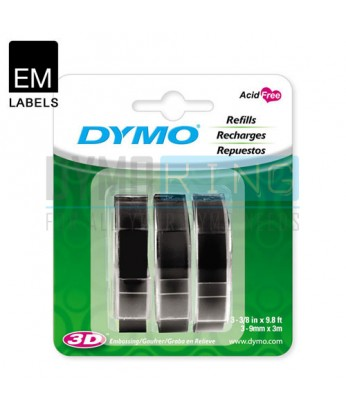 Dymo Embossing Tape - Black (SD1741670)