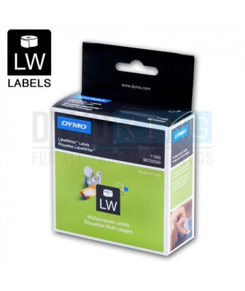Dymo LW 11355 19x51mm Multi Purpose Label