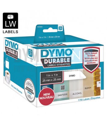 Dymo LW Durable Label 25x25